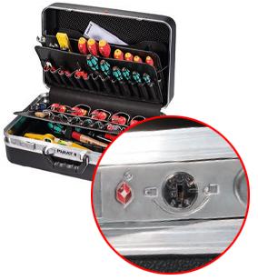 PARAT Classic Werkzeugkoffer mit TSA LOCK®-Schloss